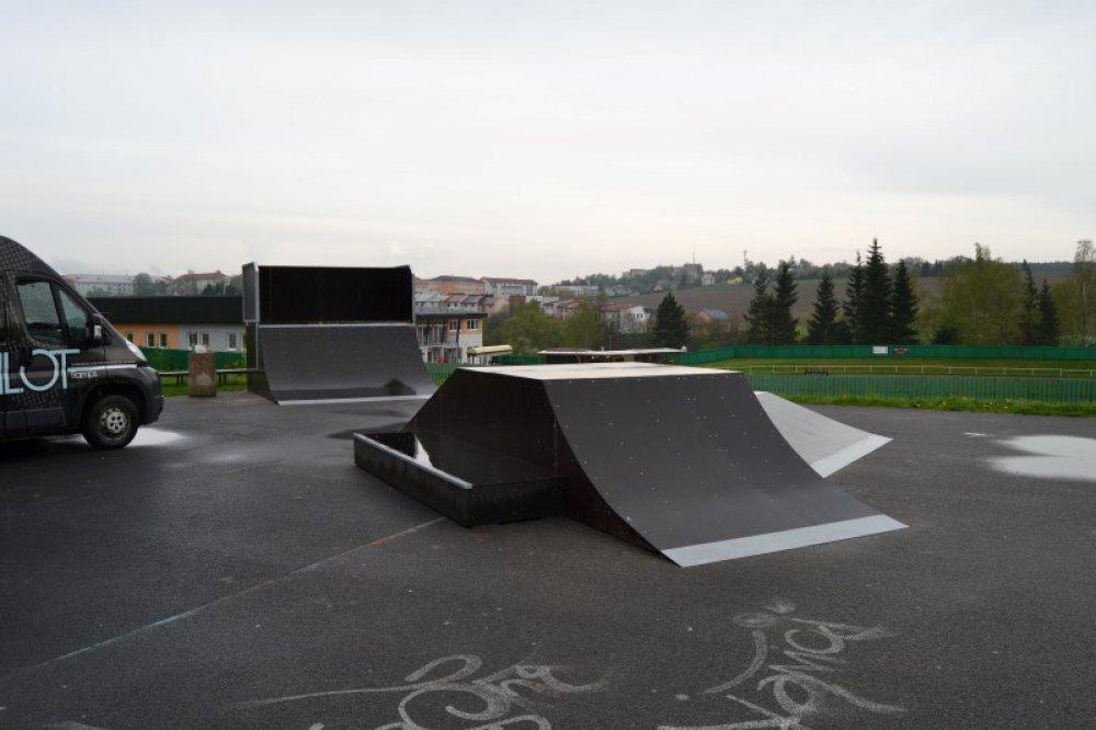 Skatepark Bystřice Nad Pern Tejnem Parkpilot